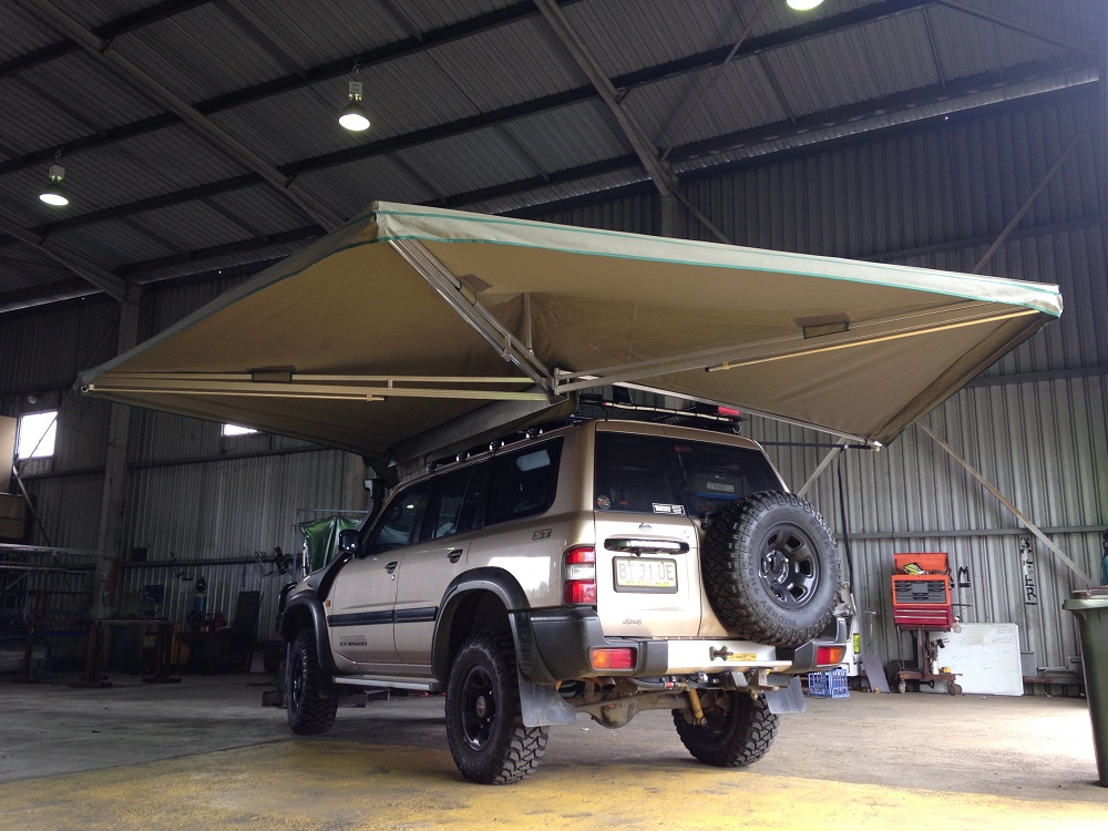 Ostrich Wing Awnings - TRUCKFIT Pty Ltd