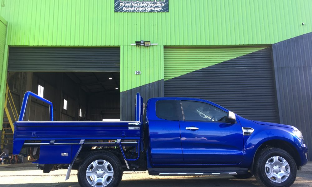 blue metallic ford ranger blue